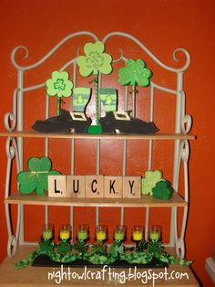 Night Owl Crafting: St. Patrick's Day Decor!