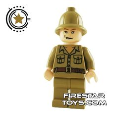 LEGO Indiana Jones Mini Figure - Rene Belloq | Indiana Jones LEGO Minifigures | LEGO Minifigures | FireStar Toys