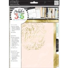 Create 365 The Happy Planner Wedding Extension Pack Stickers Printable Plan