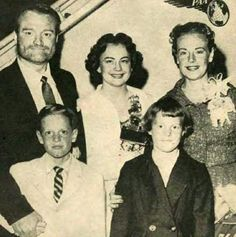 Red Skelton and his family