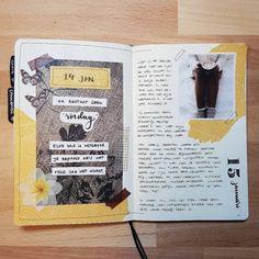 Planner Bullet Journal, Bullet Journal Spread, Bullet Journal Inspo, Bullet Journal Layout, My Journal, Journal Pages, Creative Journal, Journal Design, Bullet Journal Aesthetic
