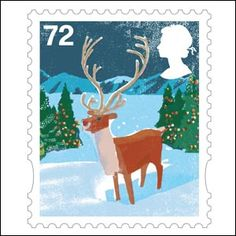 England Postage Stamps | First Class Stamp - Christmas Stamp | World Stamps Pictures