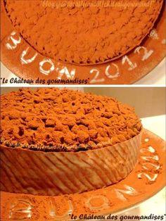 Torta cioccolatosa di Capodanno 2012 - Chocolate New Year's Eve cake