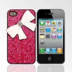 Happiness is a bling iPhone case LOL