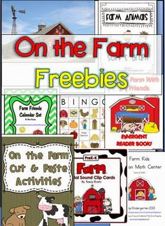 This week's freebies are all about having fun on the farm! Farm Kids Addition Math Center By: Kamp Kindergarten Farm Vocabulary Pictures By: Michelle Farm Activities, Preschool Themes, Farm Lessons, Farm Kids, Farm Unit, Bingo, In Kindergarten, Farm Theme Classroom, Autism Classroom