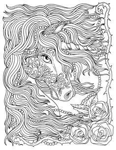 Unicorn Coloring Pages for Adults . 30 Lovely Unicorn Coloring Pages for Adults . Unicorn Coloring Pages Detailed Coloring Pages Patinsudouest Horse Coloring Pages, Unicorn Coloring Pages, Coloring Book Art, Mandala Coloring Pages, Detailed Coloring Pages, Free Adult Coloring Pages, Printable Coloring Pages, Free Coloring, Christmas Coloring Pages
