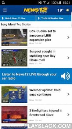 News 12  Android App - playslack.com ,  Welcome to the new, upgraded News 12 app, which contains many new features and is now fully optimized for Android phones and tablets. Please note, that current app users will need to login after the download to the new app with your Optimum ID and password or your News 12 login. This is a one-time login so you can choose your preferred region and all of your alerts. News 12 is the exclusive 24-hour news network dedicated to covering local news in 7…