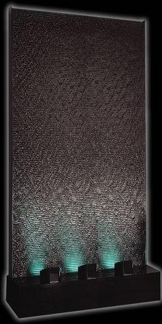 Large 4' x 8' Black Acrylic Aqua Fall Water Panel $7800