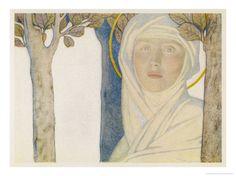 Saint Brigid Irish Slave Who Became a Nun Who Became a Saint...beautiful