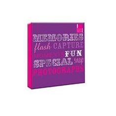 Arpan Special Purple Large Slip In Photo Album 500 Photo's 6'' x 4''