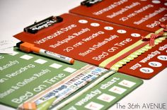 LOVE THESE! DIY Dry Erase Clip Boards with After School Checklists or whatever you would like to include. #backtoschool
