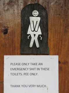 Humorous & Unclear Toilet Signs and Directions | interbent.com