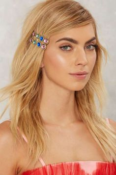 Cathy 2-pc Jeweled Hair Pin Set
