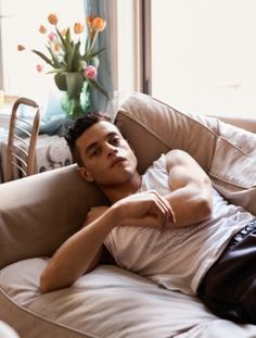 Rami Malek/Interview magazine