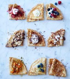 Sweet crepes and savory crepe recipes from Williams Sonoma