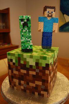 Si te gusta Minecraft, ¡te encantará esta tarta! – Alfa Beta Juega