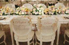 Todos os estilos das cadeiras para casamento. Encontre a sua!