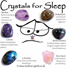 Crystals for sleep