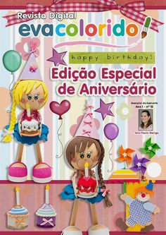 revistas de manualidades gratis Foam Crafts, Diy And Crafts, Diy Y Manualidades, Inspirations Magazine, Soap Making, Princess Peach, Projects To Try, Happy Birthday, Quilts