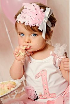 Perfectly Pink Swarovski Headband from The Couture Baby