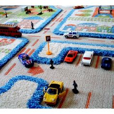 The 10 most beautiful play carpets for the children's room – carpet detail view … - Modern Carpet Design Carpets For Kids, Nursery Rugs, Room Carpet, Cool Inventions, Carpet Design, Cool Rugs, Contemporary Rugs, Play Houses, Kids Playing