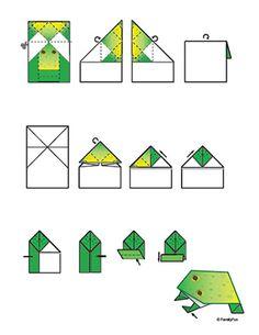 Origami Jumpin' Frog