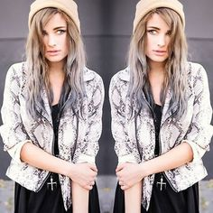 #stealthelook #look #looks #streetstyle #streetchic #moda #fashion #style #estilo #inspiration #inspired #acessorios #jaqueta #snakeprint #cobra #skin #Print