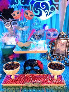 Masquerade Quinceañera Party Ideas   Photo 2 of 19   Catch My Party