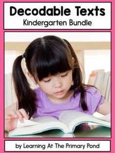 This is a growing bundle of decodable books for Kindergarten students! A lesson plan for each reader is also included. #kindergarten #primarystudents #primaryteachers #education #reading Learning To Write, Teaching Writing, Student Learning, Decoding Strategies, Comprehension Strategies, Reading Fluency Activities, Phonemic Awareness Activities, Phonics Lessons, Kindergarten Books