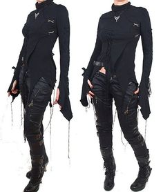 Post Apocalyptic Fashion...Id add more leather if its a zombie apocalypse but this seems pretty close