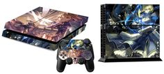 Fate Stay Night Anime Girl Zero Saber Vinyl Skin Sticker Decal Protector for Playstation 4 PS4