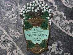 Vintage Tins, Vintage Labels, Vintage Ephemera, Cosmetic Labels, Australian Native Flowers, Perfume Packaging, Button Cards, Mooncake, Vintage Perfume