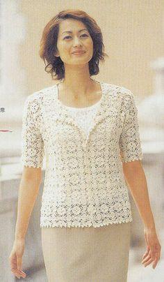 Saco blusa beich