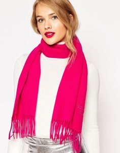 Image 1 of Boutique Moschino Merino Wool Scarf