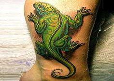 Best Lizard Gecko Tattoos