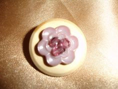 Vintage Button Stacked Pin/Brooch by SupplyWizard on Etsy, $2.55