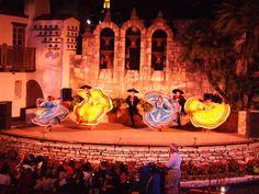 Fiesta Noche Del Rio Performance on the Riverwalk, San Antonio, Texas