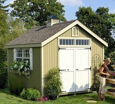 10 style setting garden sheds