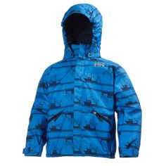 K JOTUN JACKET PRINT Fun prints and Helly Tech® construction make this jacket a stylish solution for all-weather protection