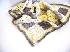 Vivid color inspiration  Granny Cherub Baby Blanket pattern on Craftsy.com