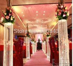 Goedkope , koop rechtstreeks van Chinese leveranciers: 40m 14mm kristal prisma bruiloft guirlande kraal ketting feestartikelen kerst decoratie boom kristal streng opgehangen geregen w066Materiaal: 14mm achthoek acryl kralenTechniek: handgemaak
