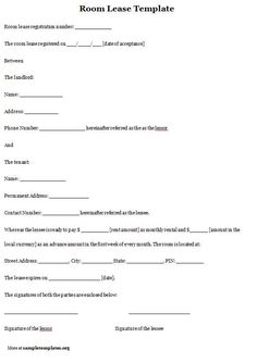 Printable Sample Roommate Agreement Form Form in 2019