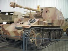 "The Marder III is the name for a series of World War II German tank destroyers built on the chassis of the Panzer 38(t). The German word Marder means ""marten"" in English. They were in production from 1942 to 1944 and served on all fronts until the end of the war..."