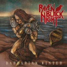 RAVEN BLACK NIGHT - Barbarian Winter