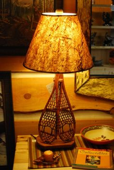 Pacific coast lighting honey bear nightlight table lamp snowshoe table lamp from cabin creations in phillips wi mozeypictures Images
