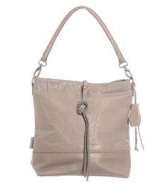 Petrol leren tas voorzien van een leren riempje met studs, model Sara. Deze uni bag is voorzien van een kort hengsel en wordt geleverd met een verstelbare schouderband - Grijs - NummerZestien.eu