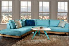 Γωνιακός καναπές Alameda Outdoor Sectional, Sectional Sofa, Outdoor Furniture Sets, Outdoor Decor, Living Room Furniture, Home Decor, Modular Couch, Lounge Furniture, Decoration Home