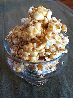 Carmel Corn. I used cream instead of condensed milk. It was a good caramel recipe, but the recipe isn't very detailed, it would have helped to have more detail