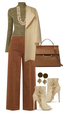 """""""Stepping into Fall(outfits only)"""" by littlefeather1 ❤ liked on Polyvore featuring Apiece Apart, Isa Arfen, Louise et Cie, topsets and polyvoreeditorial"""