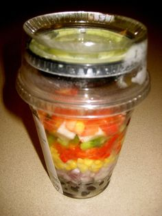 Whole Foods Black Bean Salad Shakers